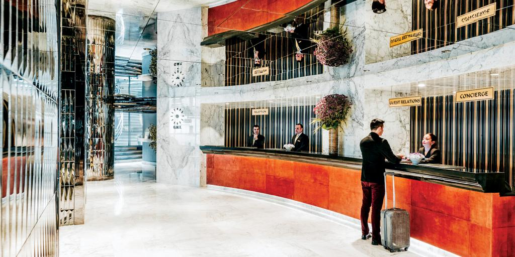 Elysium Hotel lobby, Istanbul