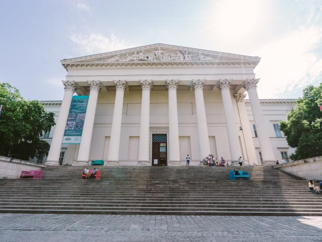 Hungarian National Museum , Budapest, Hungary