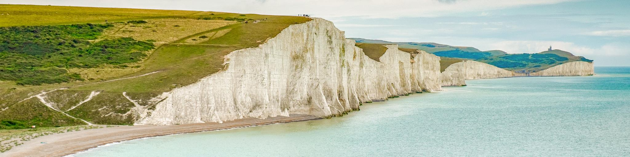 Seven Sisters cliffs in East Sussex
