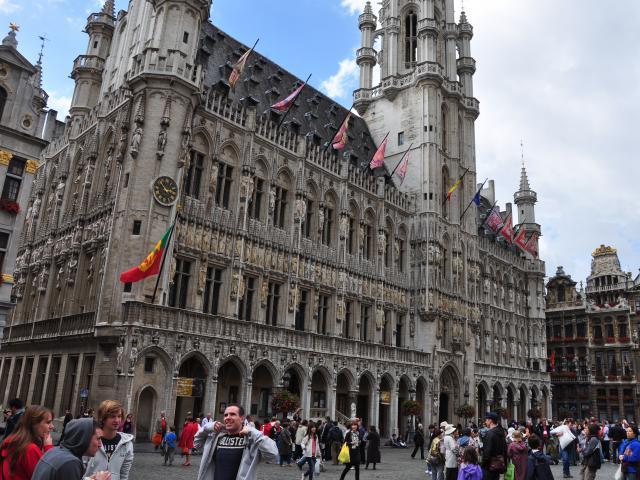 The Grote Markt, Brussels, Belgium