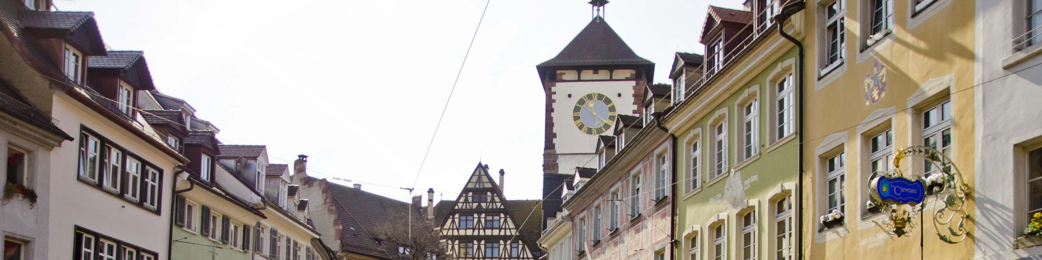 Street in Freiburg, Germany