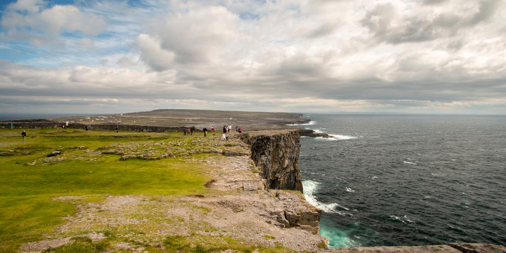 Cliffs of the Aran Islands, Galway