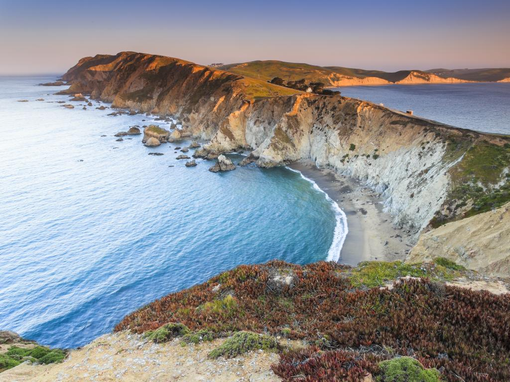 Coastline along the Point Reyes National Seashore, California