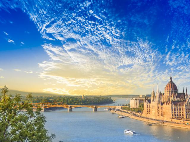 Budapest city break - a perfect river view