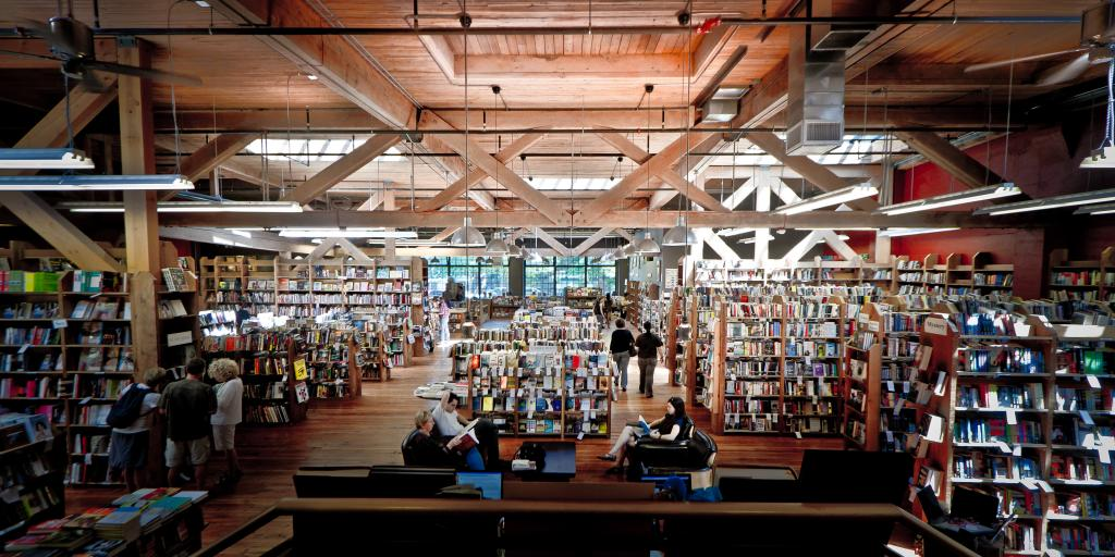 Elliott Bay bookstore, Seattle