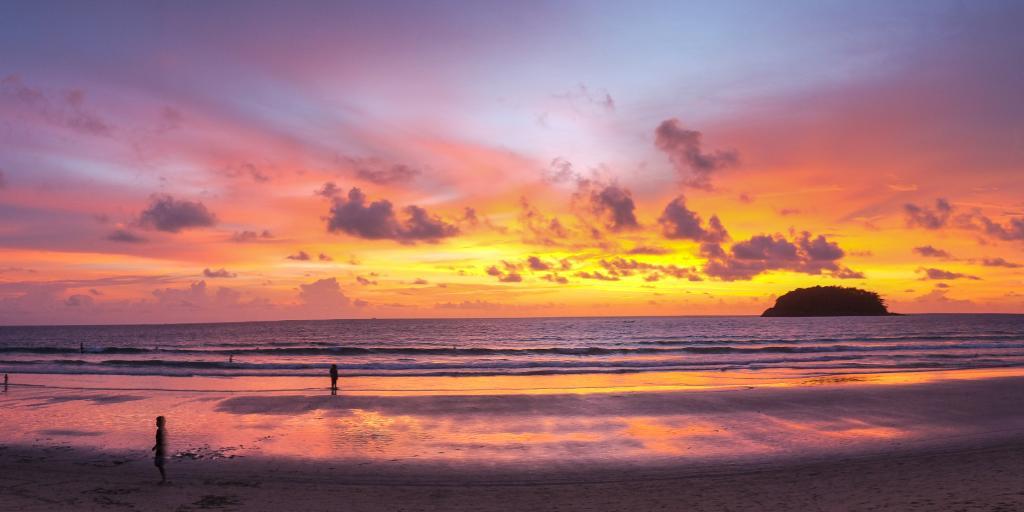 Sunset at Kata Beach, Phuket
