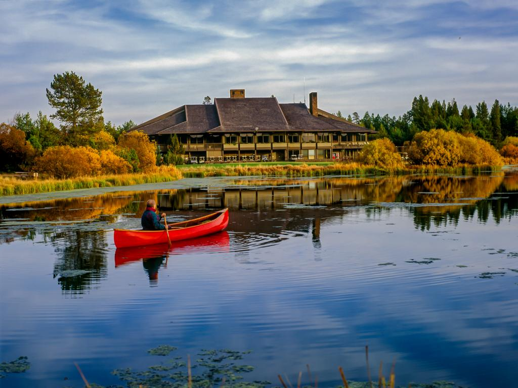 Sunriver Resort in the Deschutes National Forest is a perfect place to relax on your road trip from San Francisco to Portland.