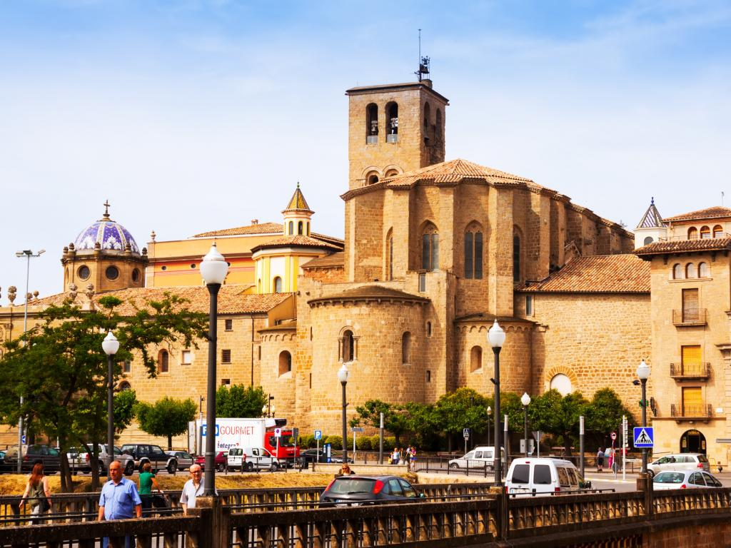 Cathedral of Santa Maria in Solsona, Catalonia - a 2 hour drive from Barcelona