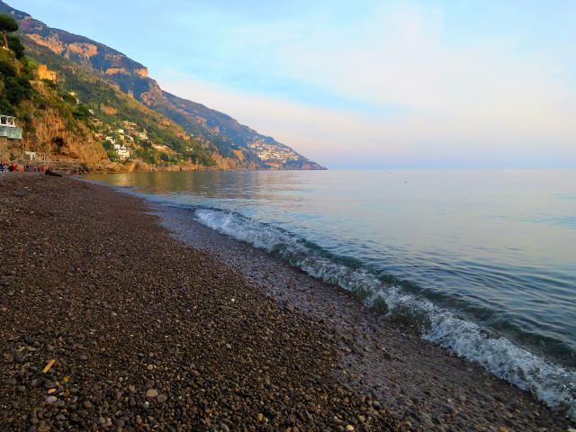 Spiaggia Fornillo, Positano, Italy