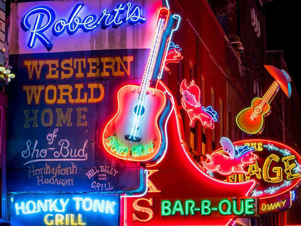 Robert's Western World bar in Nashville, Tennessee