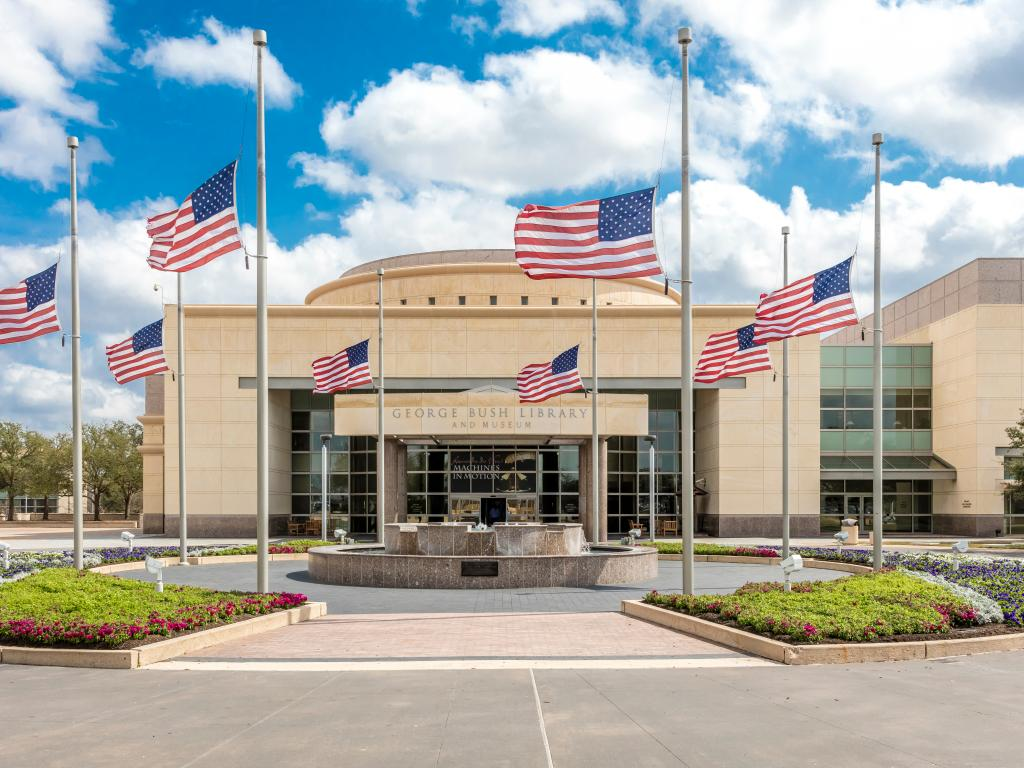 George H.W. Bush Presidential Library and Museum in College Station, Texas.