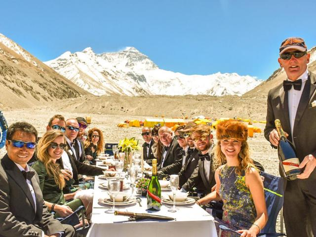 INTERVIEW: Everest climber Sadie Whitelocks on breaking the record for the world's highest dinner party