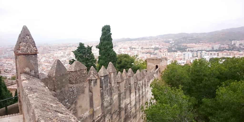 Castillo Gibralfaro, Malaga, Spain