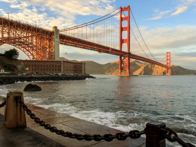 Golden Gate Bridge and Fort Point National Historic Site, California