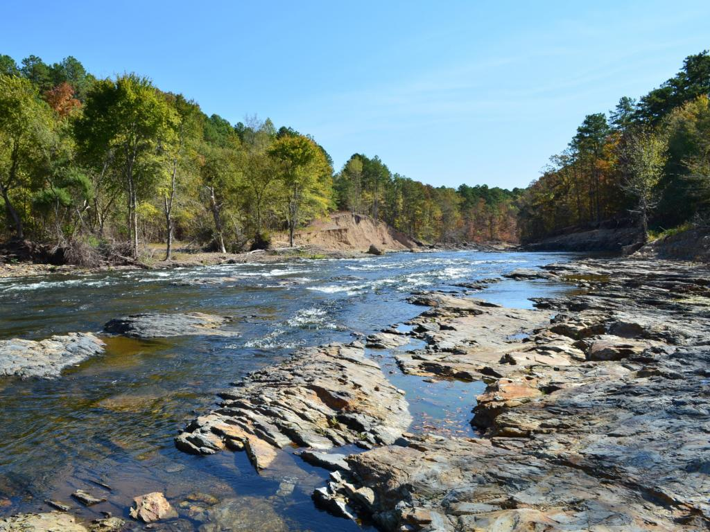 Mountain Fork River in Beavers Bend, Oklahoma - 3 hours from Dallas