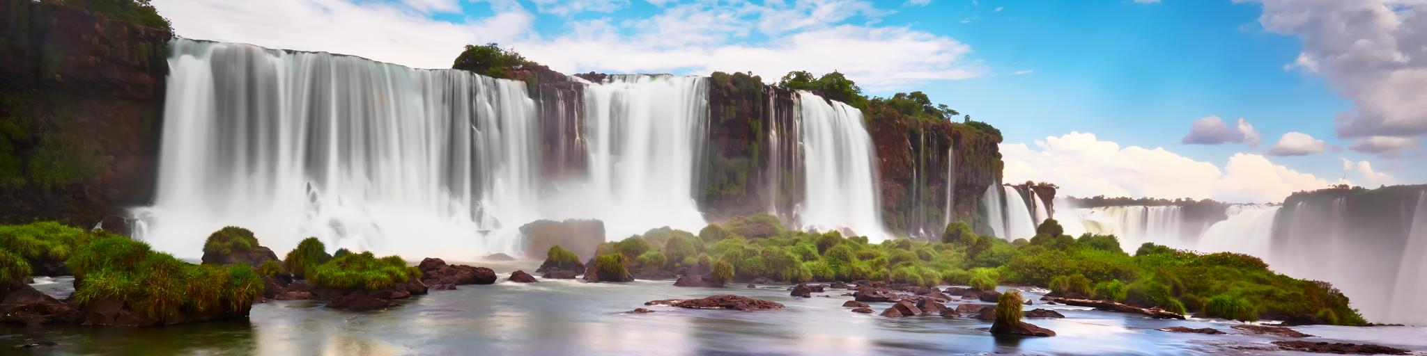 Iguazu Falls on the border between Argentina, Paraguay and Brazil are a natural phenomenon well worth the road trip from Buenos Aires.
