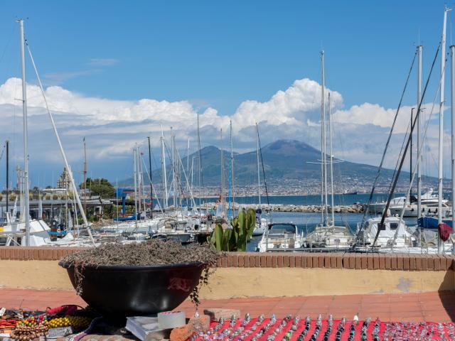 Lungomare, Naples, Italy