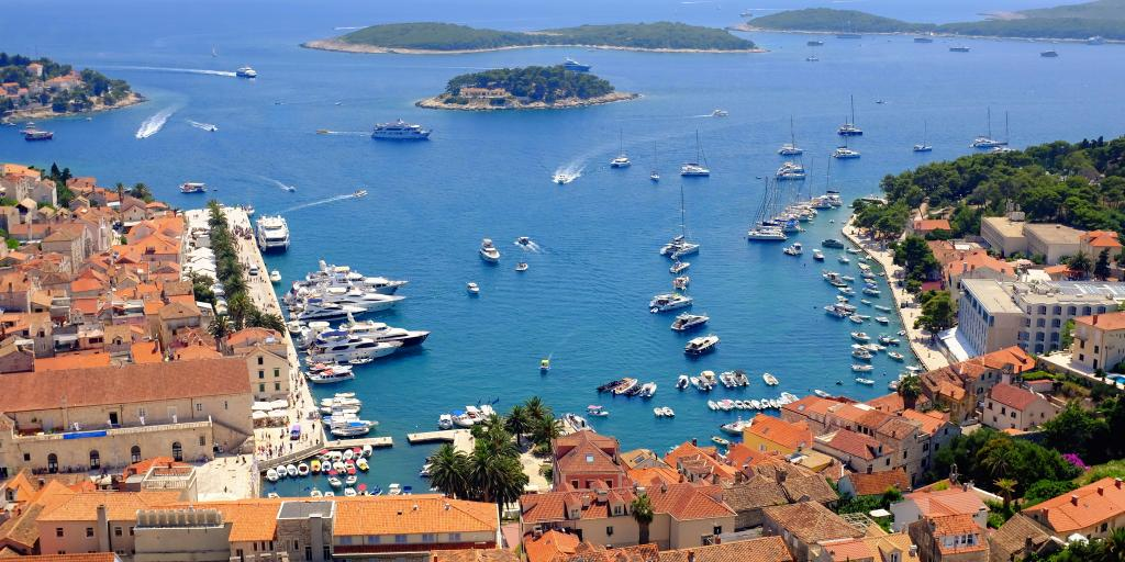 The view from Hvar Fortress