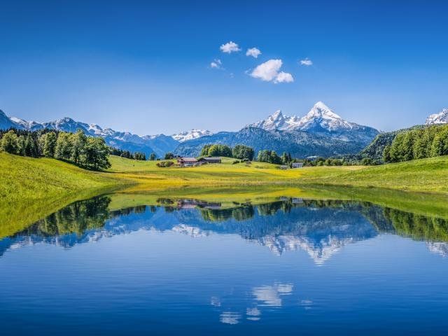 Bavaria road trip takes in amazing Alpine scenery with snowy peaks