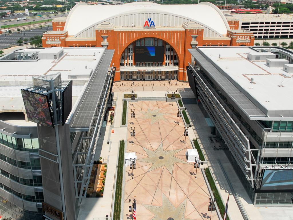 American Airlines Center multi-purpose arena for the Dallas Stars and Dallas Mavericks