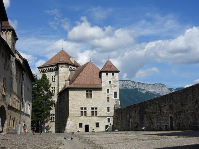 Chateau d'Annecy, Annecy, France