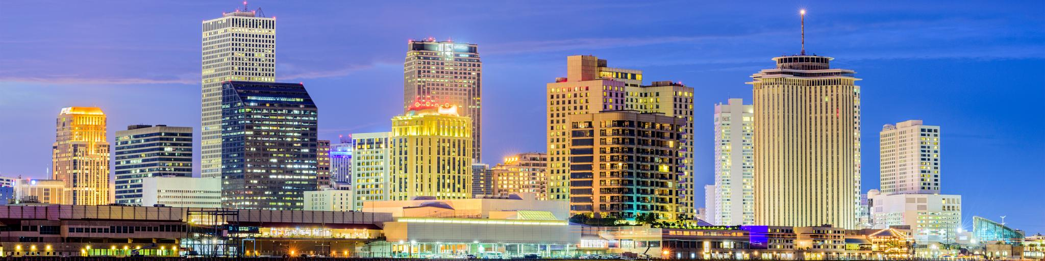 A view of the New Orleans skyline