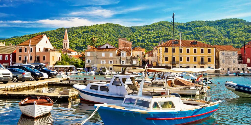 Harbour in Stari Grad, Hvar