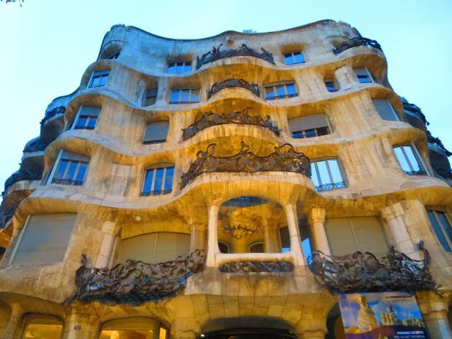 Casa Milà (La Pedrera), Barcelona, Spain