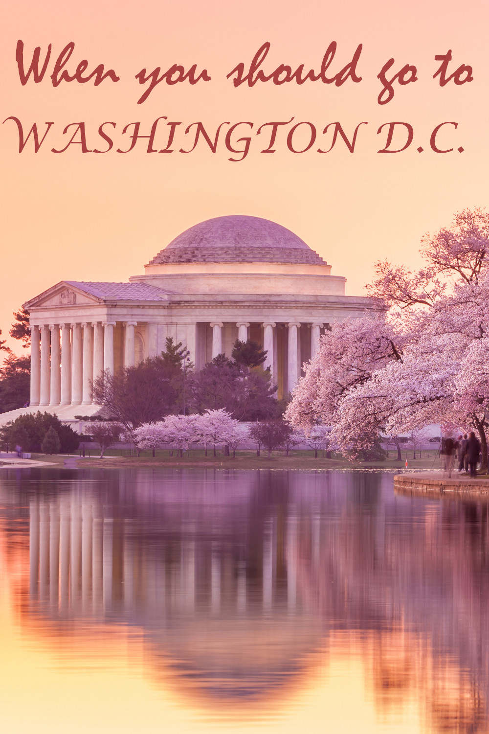 Best time to visit Washington D.C. - the complete guide for when you should go for the weather, festivals and everything else.