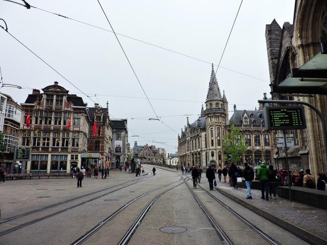 Korenmarkt, Ghent, Belgium