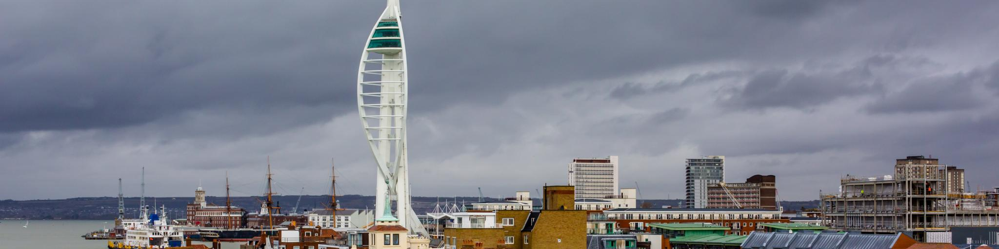 Spinnaker Tower, Portsmouth, England
