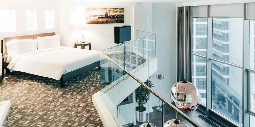 Elysium Hotel room, Istanbul