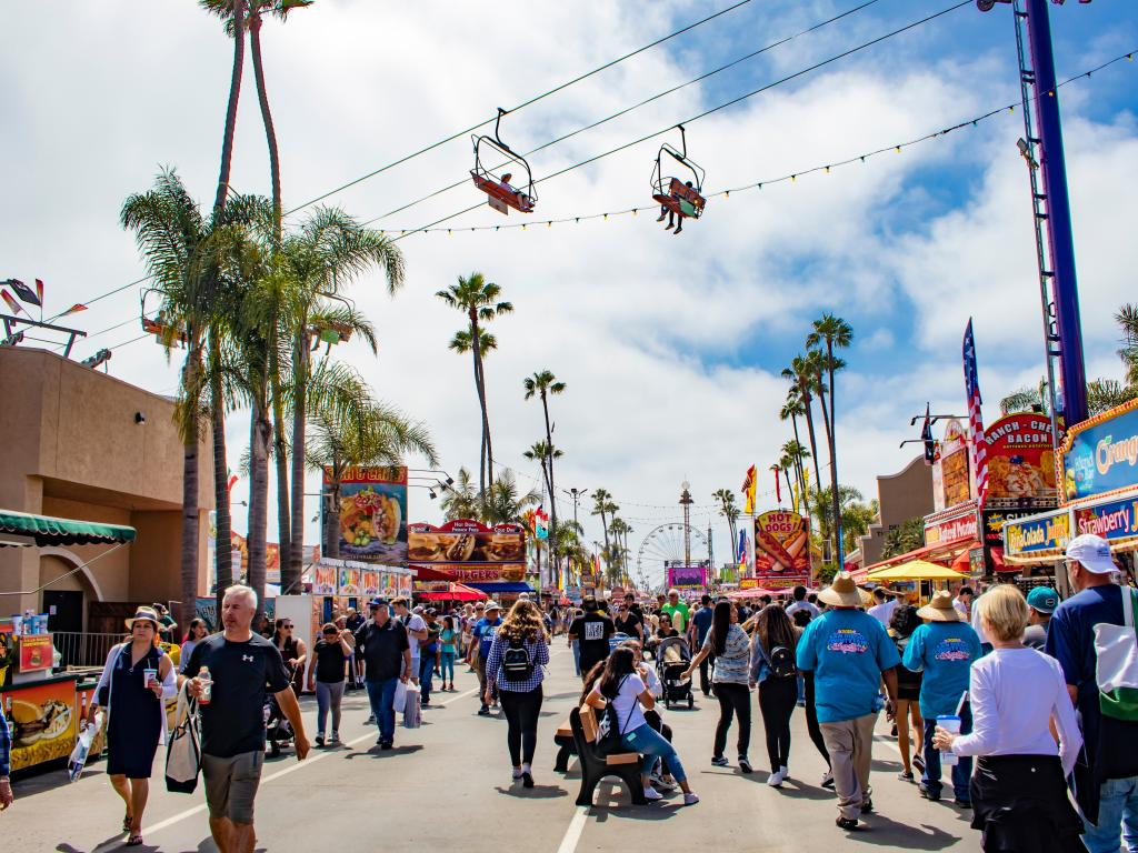 The San Diego County Fair in June is a great time to come to San Diego despite the June Gloom