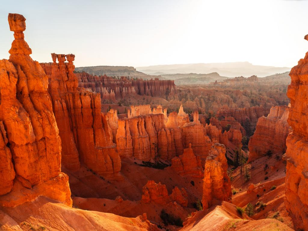 Sunrise in Bryce Canyon in Bryce Canyon National Park, Utah