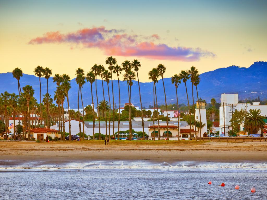 Santa Barbara from the pier, California