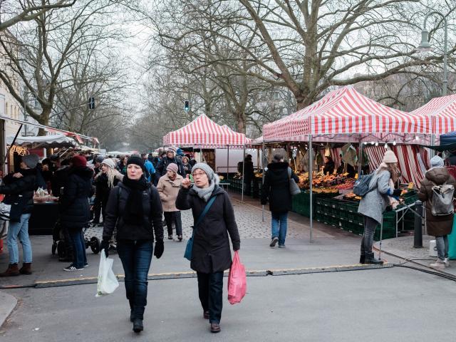 Kollwitzplatz Market, Berlin, Germany