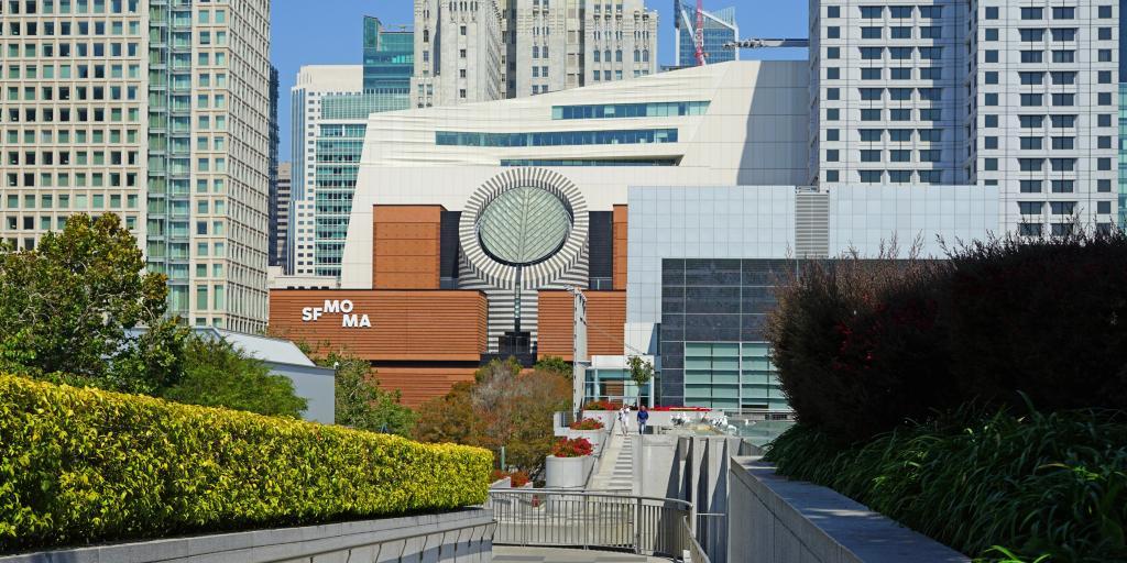 San Francisco Museum of Modern Art (SFMOMA) in downtown San Francisco