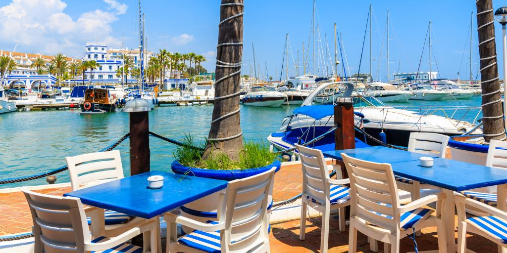 Breakfast in Estepona before continuing with your Spain road trip