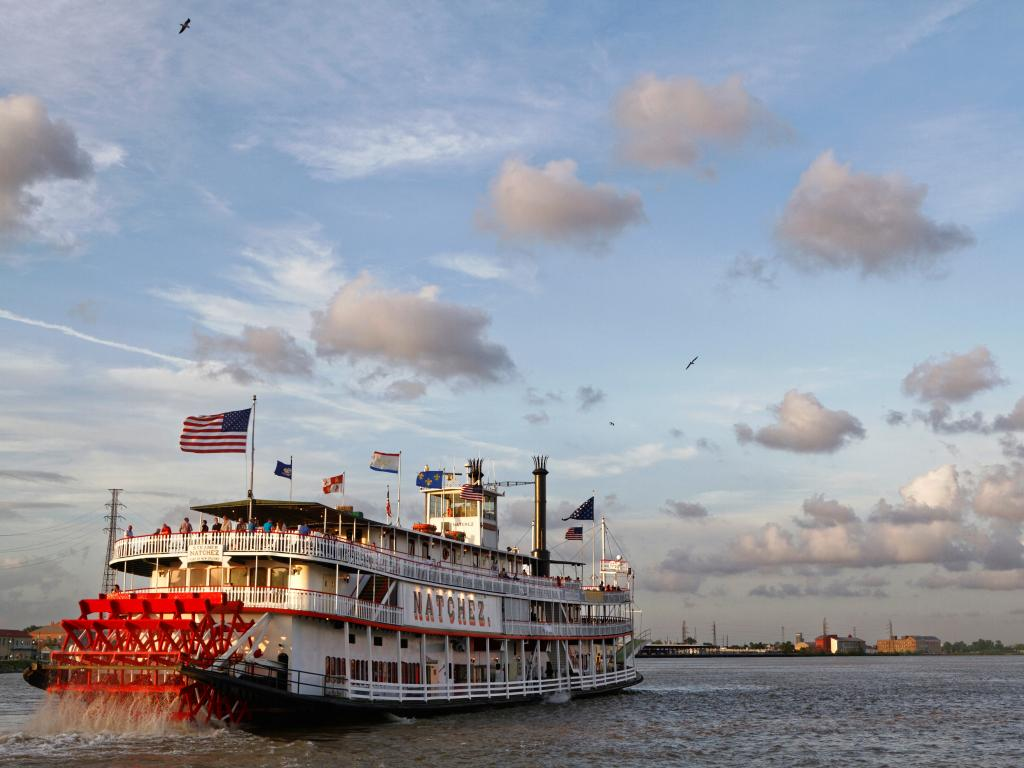 Steamboat Natchez tours start from New Orleans and are a great day trip out
