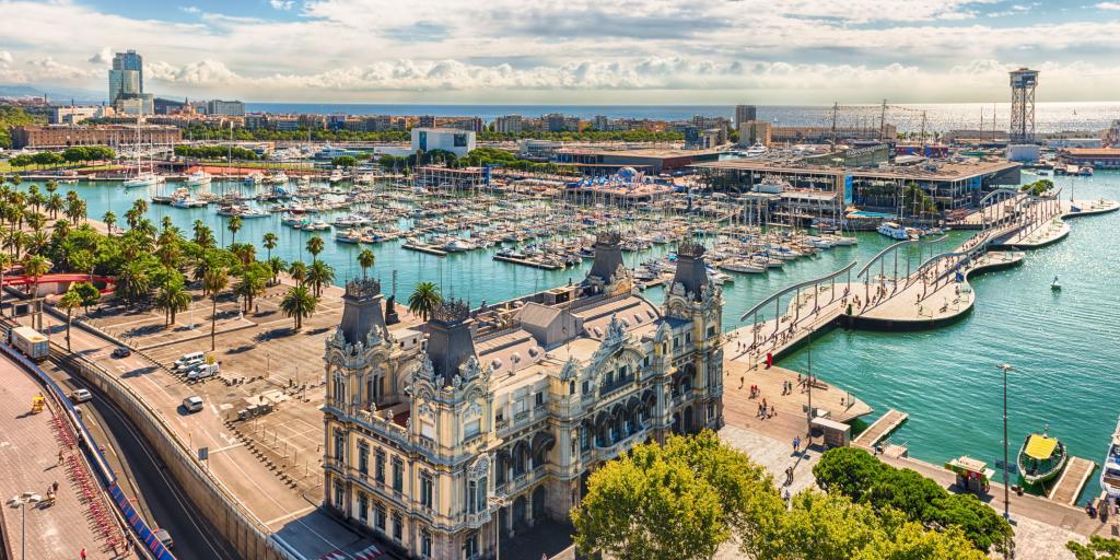 Spain road trip Barcelona's Port Vell