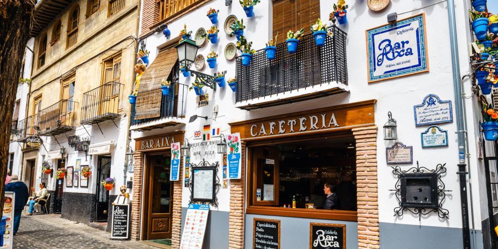 Albaicin stop on the road trip through Spain