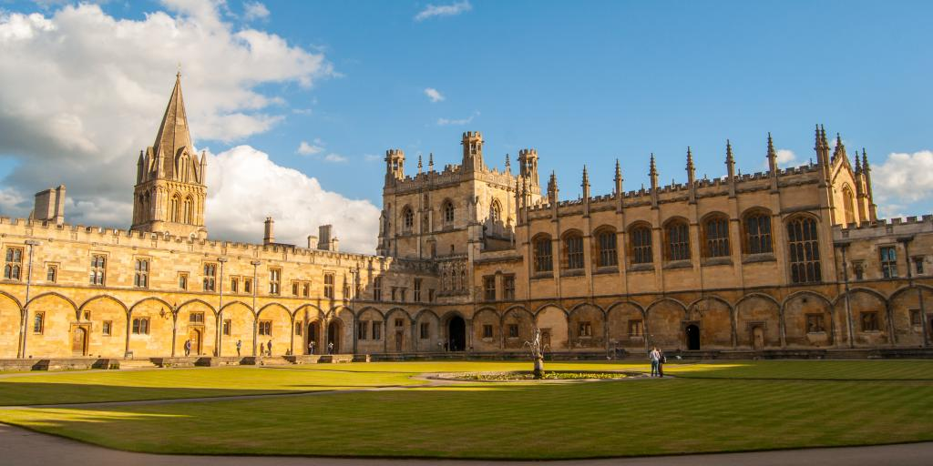 The Cathedral and Dining Hall at Christ Church College, Oxford