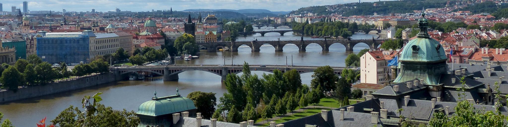 Prague from Letna Park