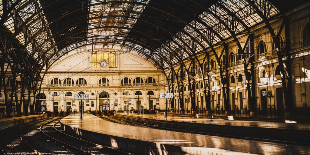 Barcelona railway station Estació de França
