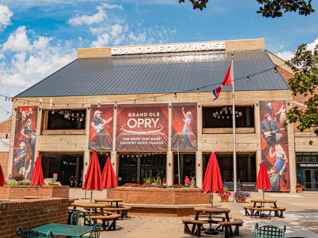 Country Music at the Grand Ole Opry in Nashville, Tennessee