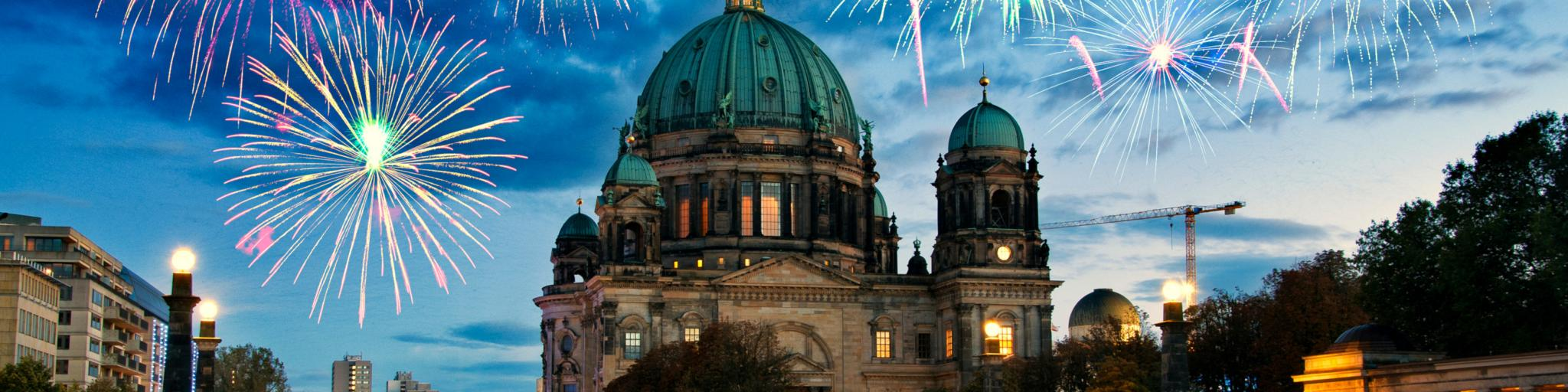 Berlin city break - a perfect evening with fireworks