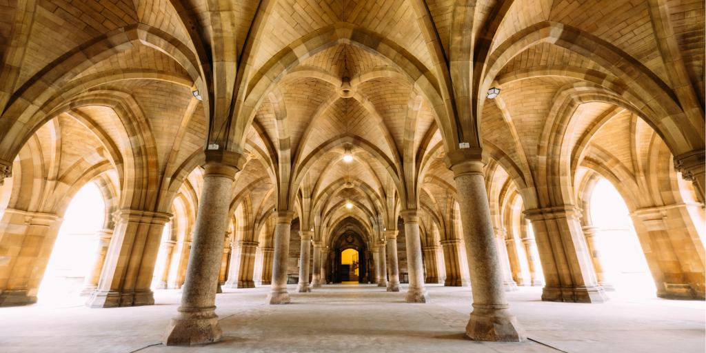 The Cloisters at Glasgow University