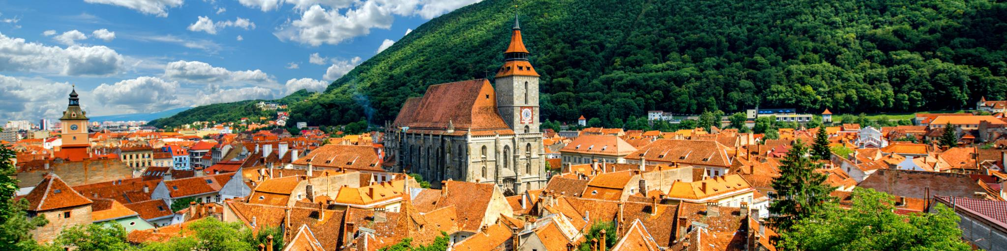 Stop in Brasov on the Transylvania road trip through Romania