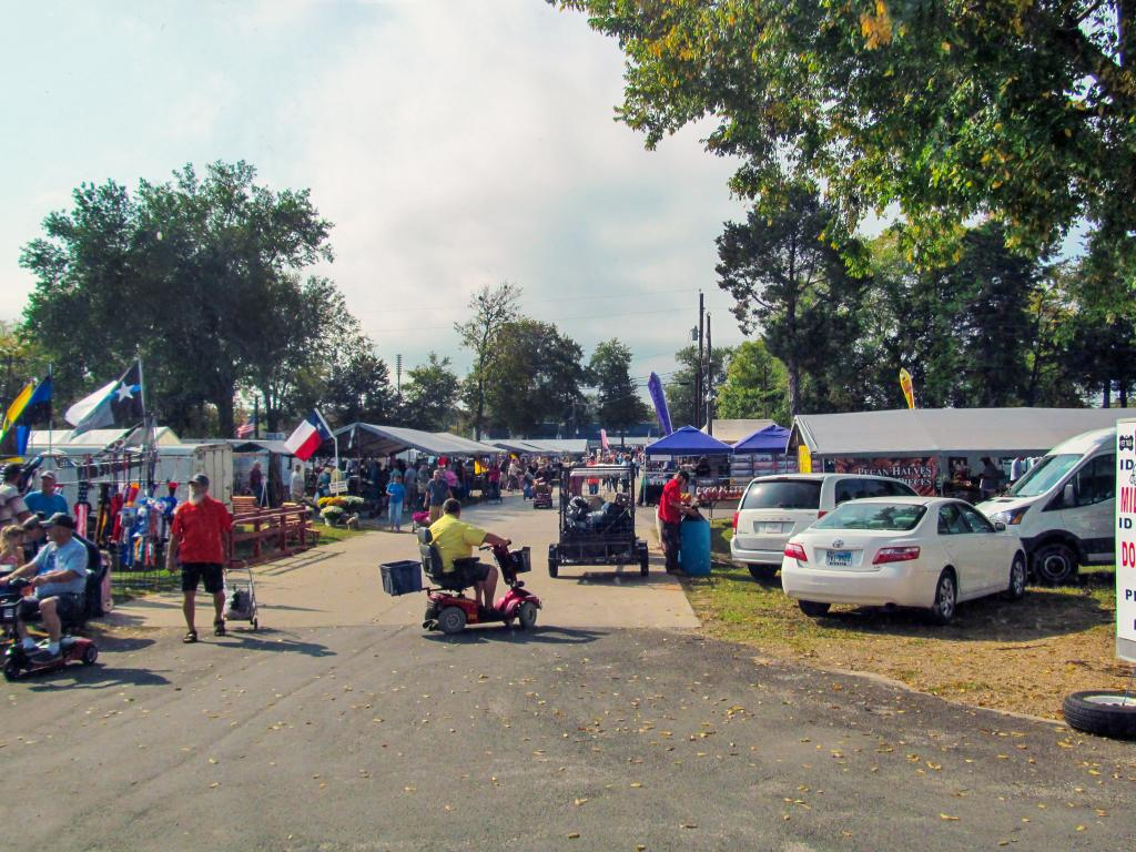 The First Monday Trade Days flea market in Canton, Texas has been running since 1850.