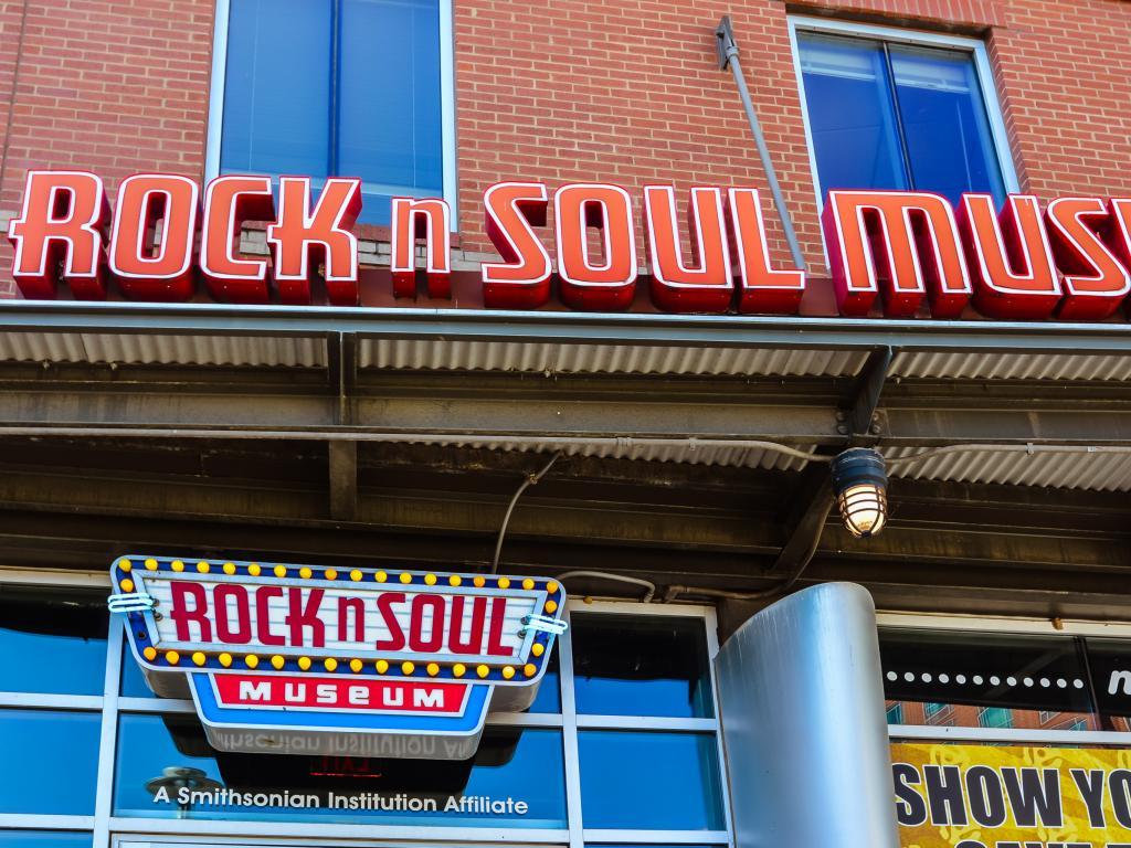 Rock n Soul Museum on Beale Street in Memphis, Tennessee